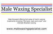 Male Waxing Specialist