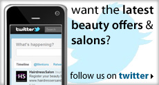 get latest beauty offers and salons on twitter