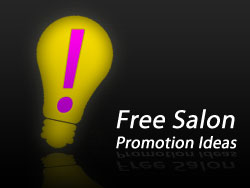 Salon Promotional Ideas