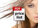 Beauty Salon Price Lists