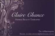 Claire Chance - Mobile Beauty Therapist & Make Up