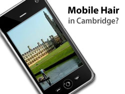 Mobile Hairdressing comes to Cambridge